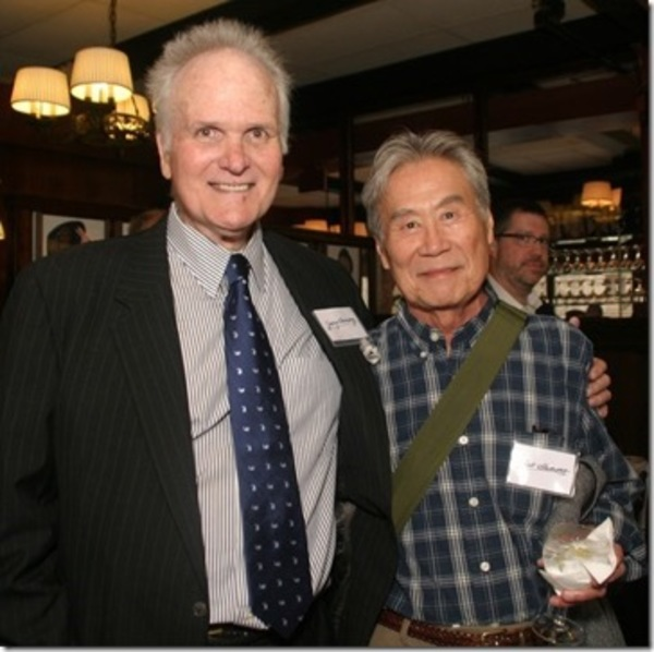 Jerry Lanning, with Sab Shimono